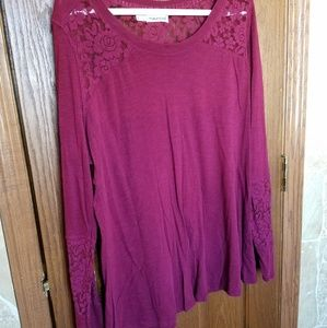 Maurices Long Sleeve Shirt size 2